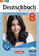 Cover-Bild zu Deutschbuch 8. Schuljahr. Differenzierende Ausgabe. Sprach- und Lesebuch mit CD-ROM von Faber, Gisela