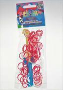 Cover-Bild zu Rainbow Loom Team-Set Schweiz - Rot-Weiss-Rot + Nadel