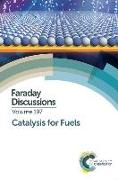 Cover-Bild zu Catalysis for Fuels: Faraday Discussion von Royal Society of Chemistry (Gespielt)