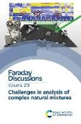 Cover-Bild zu Challenges in Analysis of Complex Natural Mixtures: Faraday Discussion 218 von Royal Society of Chemistry (Gespielt)