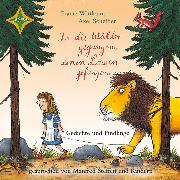 Cover-Bild zu In die Wälder gegangen, einen Löwen gefangen - Gedichte und Findlinge (Audio Download) von Scheffler, Axel