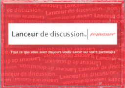 """Cover-Bild zu Lanceur de Discussion """"Romance"""""""