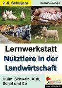Cover-Bild zu Lernwerkstatt Nutztiere in der Landwirtschaft (eBook) von Brandenburg, Birgit