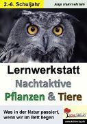 Cover-Bild zu Lernwerkstatt Nachtaktive Pflanzen und Tiere (eBook) von Hammelstein, Anja