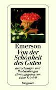 Cover-Bild zu Emerson, Ralph Waldo: Von der Schönheit des Guten