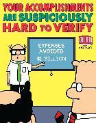 Cover-Bild zu Adams, Scott: Your Accomplishments Are Suspiciously Hard to Verify