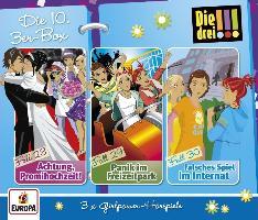 Cover-Bild zu Die drei !!! 3er Box 10. Folge 28-30