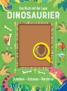Cover-Bild zu Das Buch mit der Lupe: Dinosaurier von Bédoyère, Camilla de la