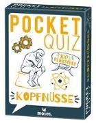 Cover-Bild zu Pocket Quiz Kopfnüsse von Webel, Matthias Leo