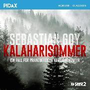 Cover-Bild zu Kalaharisommer - Pivatdetektiv Hannibal Hunter (Audio Download) von Goy, Sebastian