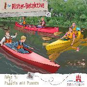 Cover-Bild zu Die Alster-Detektive, Folge 9: Paddeln mit Pannen (Audio Download) von Schwind, Kai