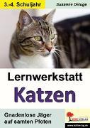 Cover-Bild zu Lernwerkstatt Katzen (eBook) von Deluge, Susanne