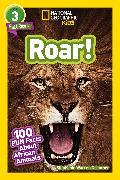 Cover-Bild zu National Geographic Readers: Roar! 100 Facts About African Animals (L3) von Drimmer, Stephanie Warren
