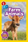 Cover-Bild zu National Geographic Readers: Farm Animals (Level 1 Co-reader) von Mattern, Joanne