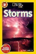 Cover-Bild zu National Geographic Readers: Storms! von Goin, Miriam Busch