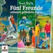 Cover-Bild zu Blyton, Enid: Fünf Freunde - 3er-Box 33 ... entlarven gefährliche Lügner (Folgen 99, 118, 122)