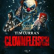 Cover-Bild zu Clownfleisch (Audio Download) von Curran, Tim