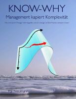Cover-Bild zu KNOW-WHY: Management kapiert Komplexität (eBook) von Neumann, Kai