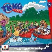 Cover-Bild zu TKKG Junior 016. Trügerischer Paddelspaß