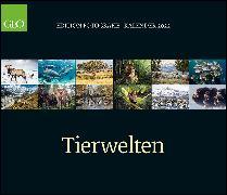 Cover-Bild zu GEO Edition: Tierwelten 2022 - Wand-Kalender - Tier-Kalender - 70x60 von Gruner+Jahr GmbH
