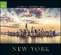 Cover-Bild zu GEO SAISON: New York 2022 - Wand-Kalender - Reise-Kalender - Poster-Kalender - 50x45 von Gruner+Jahr GmbH