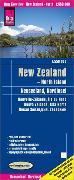 Cover-Bild zu Reise Know-How Landkarte Neuseeland, Nordinsel 1:550.000. 1:550'000