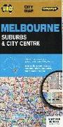 Cover-Bild zu Melbourne Suburbs & City Centre. 1:10'000 / 1:120'000