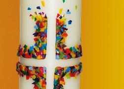 Cover-Bild zu Eschbacher Textkarte Osterkerze