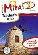 Cover-Bild zu Mira 3 Rojo Teacher's Guide Renewed Framework Edition von Traynor, Tracy