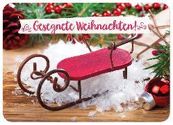 Cover-Bild zu Postkarte Gesegnete Weihnachten!