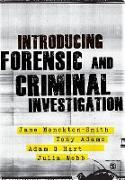 Cover-Bild zu Introducing Forensic and Criminal Investigation von Monckton-Smith, Jane