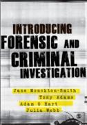 Cover-Bild zu Introducing Forensic and Criminal Investigation (eBook) von Monckton-Smith, Jane