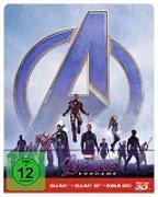 Cover-Bild zu Avengers - Endgame - 3D+2D - Steelbook (3 Disc)