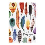 Cover-Bild zu Feathers Parcel Thank You Notecards von McMenemy, Sarah
