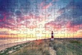 Cover-Bild zu Puzzle-Postkarte Sylt von Gmeiner-Verlag (Hrsg.)