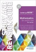 Cover-Bild zu Cambridge IGCSE Mathematics Core and Extended Study and Revision Guide 3rd edition (eBook) von Jeskins, John