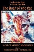 Cover-Bild zu The Year of the Cat: A Cat of Artistic Sensibilities (eBook) von Rusch, Kristine Kathryn