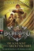 Cover-Bild zu Flanagan, John: Brotherband - Die Schlacht um das Wolfsschiff