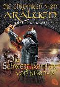 Cover-Bild zu Flanagan, John: Die Chroniken von Araluen - Die Schwertkämpfer von Nihon-Ja