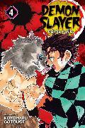 Cover-Bild zu Gotouge, Koyoharu: Demon Slayer: Kimetsu no Yaiba, Vol. 4