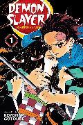 Cover-Bild zu Gotouge, Koyoharu: Demon Slayer: Kimetsu no Yaiba, Vol. 1