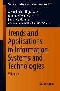 Cover-Bild zu Trends and Applications in Information Systems and Technologies (eBook) von Rocha, Álvaro (Hrsg.)