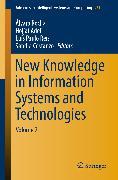 Cover-Bild zu New Knowledge in Information Systems and Technologies (eBook) von Rocha, Álvaro (Hrsg.)