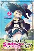 Cover-Bild zu Kisetsu Morita: I've Been Killing Slimes for 300 Years and Maxed Out My Level, Vol.3