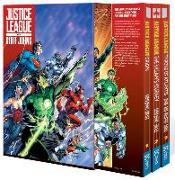 Cover-Bild zu Johns, Geoff: Justice League by Geoff Johns Box Set Vol. 1