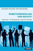 Cover-Bild zu Arbeiterbewegung von rechts? von Becker, Karina (Hrsg.)