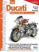 Cover-Bild zu Ducati Monster mit 4 Ventilen, Desmo, Wasserkühlung, Einspritzung