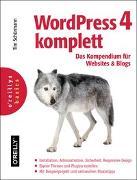 Cover-Bild zu WordPress 4 komplett: Das Kompendium für Websites und Blogs von Schürmann, Tim