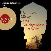 Cover-Bild zu Das Gleichgewicht der Welt (Audio Download) von Mistry, Rohinton