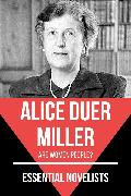 Cover-Bild zu Essential Novelists - Alice Duer Miller (eBook) von Miller, Alice Duer